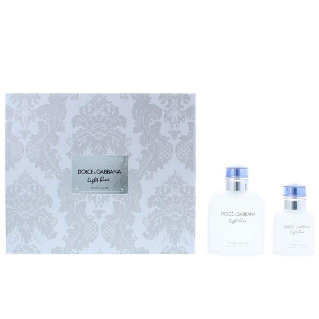 2142f2dcac2a8 Dolce   Gabbana Light Blue Pour Homme Eau de Toilette 125ml   EDT 40ml Gift  Set