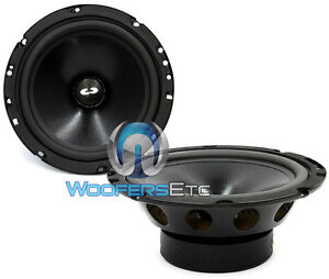 "CL-6E CDT AUDIO CLASSIC 6.5"" MID BASS 4 OHM LOUD MIDRANGE CAR SPEAKERS NEW PAIR"