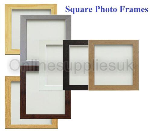 Square Picture Frame Photo Frame Poster Size Frame Black White ...