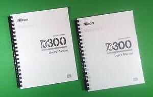 laser 8 5x11 nikon d300 camera 452 page owners manual guide ebay rh ebay com nikon d300 manual download nikon d 3300 manual