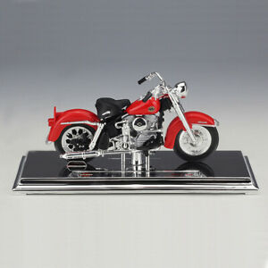 Harley-Davidson-1958-FLH-Duo-Glide-Miniature-Motorcycle-Model-Toy-1-18-BY-MAISTO