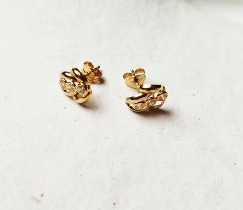 Boucle d/'oreille or 18 carats//750