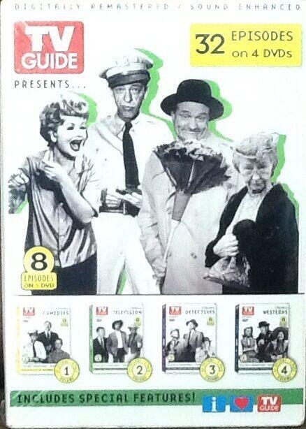 TV Guide Presents 32 Episodes on 4 DVDs in Shrinkwrap Genius 2004