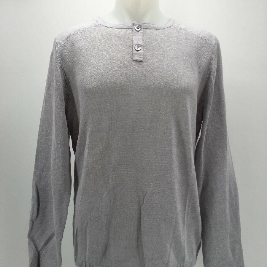 Escales Blue Men/'s V-Neck Sweater Size Medium