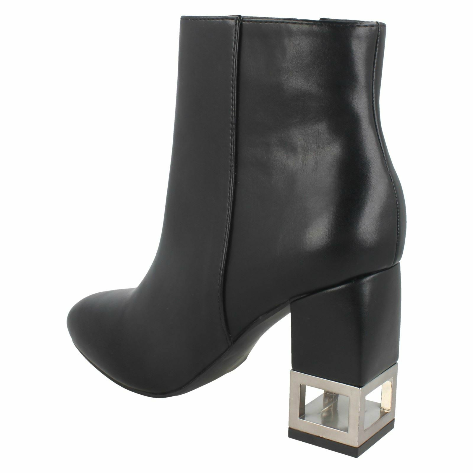 Ladies Ladies Ladies F5R0886 Ankle Boots By Spot ON Retail Price 86481a