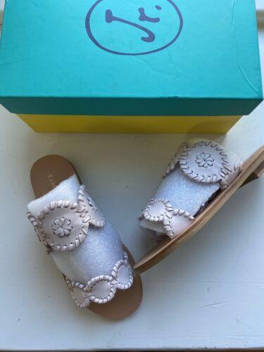Jack Rogers Girls Miss Lauren Pale Pink Sandals Size 13 New