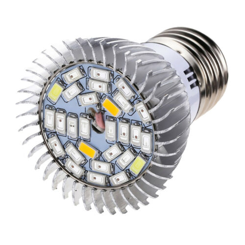10W E27 Pflanzenlampe 28LEDs Grow Lampe Pflanzenlicht Treibhaus Wachstumslampe