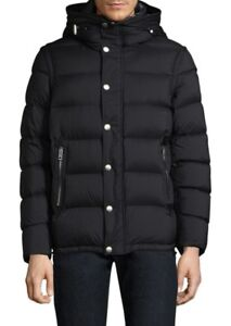 ca720263c325 Image is loading Burberry-Black-Hartley-Down-Puffer-Jacket-Small