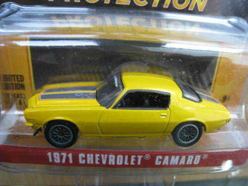 Chevrolet Camaro Sta-Bil 1971 limitado GreenLight 1:64 OVP nuevo