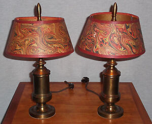 Lovely Image Is Loading VINTAGE MARIO INDUSTRIES PR OF MANTLE LAMPS WITH