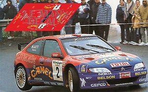 Calcas Citroen Xsara Kit Car Rally Canarias 1999 2 Decals Puras