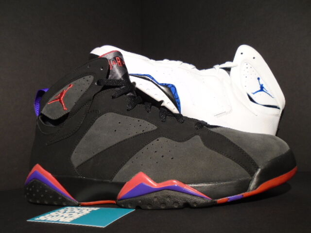 2009 nike air - jordan vii 7 retro - air dmp orlando magic toronto raptors 371496-991 14. 215453