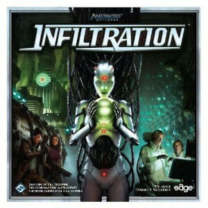Jeu de societe Infiltration - Android - Neuf, encore emballe !