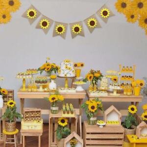 Sunflower-Burlap-Banner-Garland-Wedding-Birthday-Party-Thanksgiving-Garland