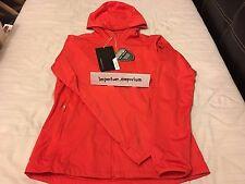 Nike Women's Shield Wind Golfing Jacket Red Size S