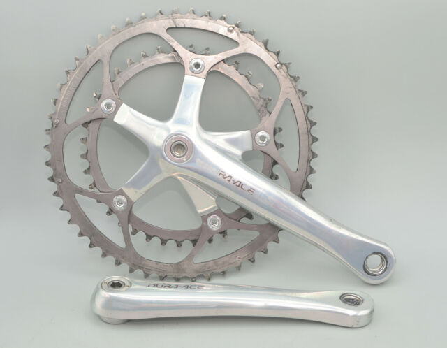 Shimano Dura-Ace 7700 FC-7701 175mm 53/39t 9 Speed Road Bike Double Crankset