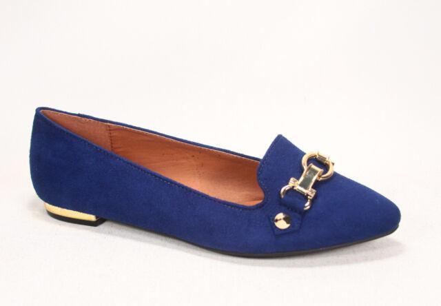 Women's Slip On Pointy Toe Flat Heel Sandal Shoes NEW Black Salmon NEW 5.5 - 10