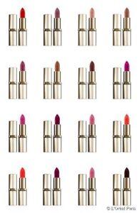ROUGE-A-LEVRES-color-riche-L-039-OREAL-mat-36-couleurs-exclusives-maquillage-beaute