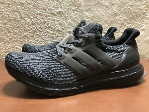 a9aa88baa2b75e adidas Ultra Boost 3.0 LTD Limited Triple Black Silver BA8923 Mens ...