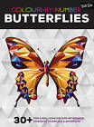 Colour-by-Number: Butterflies: 30+ Fun & Relaxing Colour-by-Number Projects to Engage & Entertain by Walter Foster (Paperback, 2016)