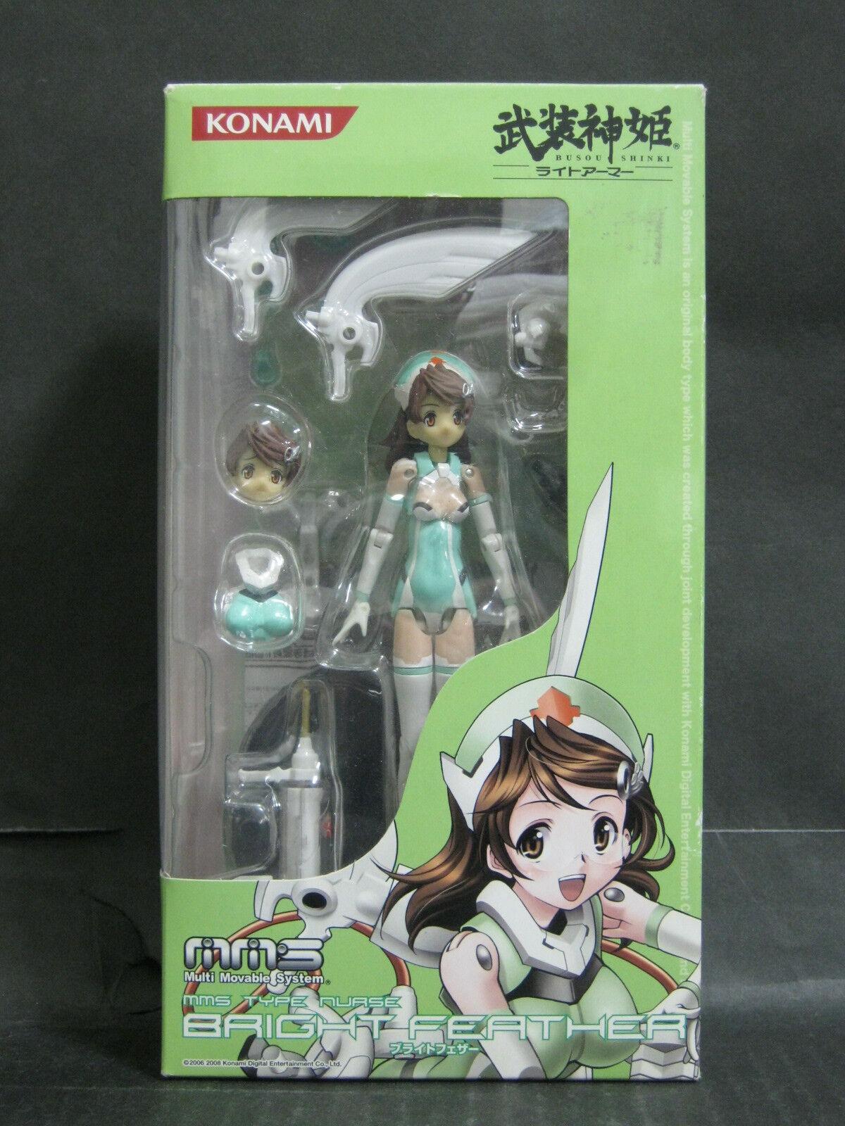 Konami MMS Busou Shinki Light Armor Type Nurse Bright Feather action figure