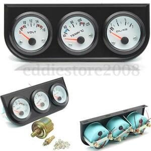 Hook up water temp gauge