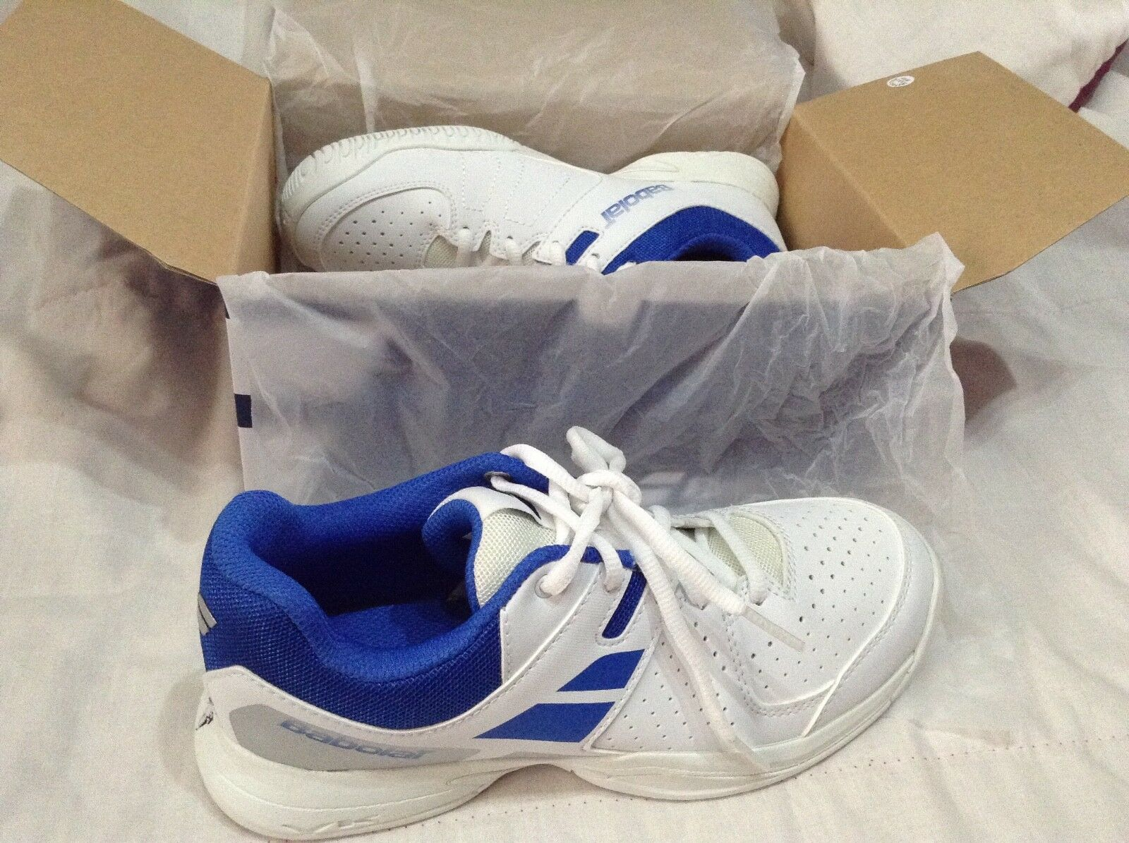 Babolat junior pulsion all court tennis shoes size 4 uk