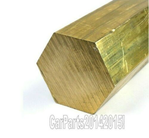 20mm 940mm Length Top Quality Model making Details about  /Brass hexagon solid bar