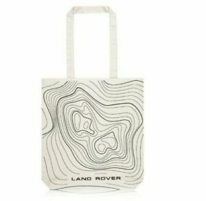 Details about Land Rover Merchandise New Genuine Relief Map Canvas Tote Bag 51LGLU461WTA