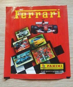 PANINI-1-Sac-Ferrari-Bustina-Pochette-Pack-Packet-sobres