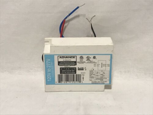 Philips Xitanium LED Electronic Driver//Ballast XI042C080V052RNP1 Dimmable 42W