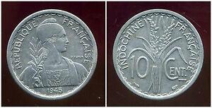 Indochine 10 Cent 1945 ( Sup ) ( Bis )