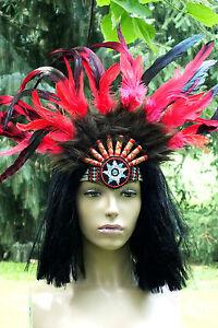 indianer-stirnband-50x35cm-lila-rot-blau-gruen-kopfschmuck-federschmuck-mandala