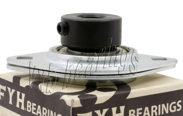 """FYH SBPFL205-16 1/"""" Stamped steel oval two bolt Flanged Mounted Bearings"""