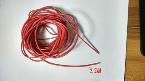 3KV DC 18AWG High Voltage silicone line Red Wire Cable 150°c 10M 1 Reel