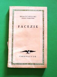 Facezie-Bracciolini-Poggio-Fiorentino-1-Ed-Corbaccio-1933-I-Corvi