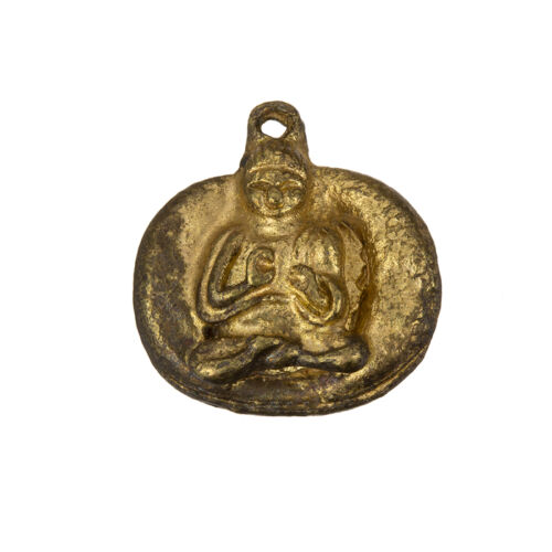 Antique Gold Meditating Sitting Buddha Pendants 22mm Sold as a Pack of 1 C85//6
