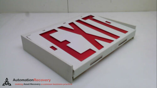 DUAL LITE EDRWW-MPU NEW #239560 60HZ 36W, EMERGENCY EXIT SIGN DOUBLE SIGN