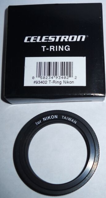 CELESTRON NIKON T-RING.  NEW IN BOX.