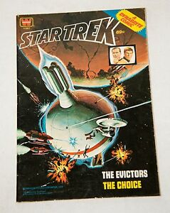 1978 STAR TREK THE EVICTORS / THE CHOICE WHITMAN DYNABRITE COMIC