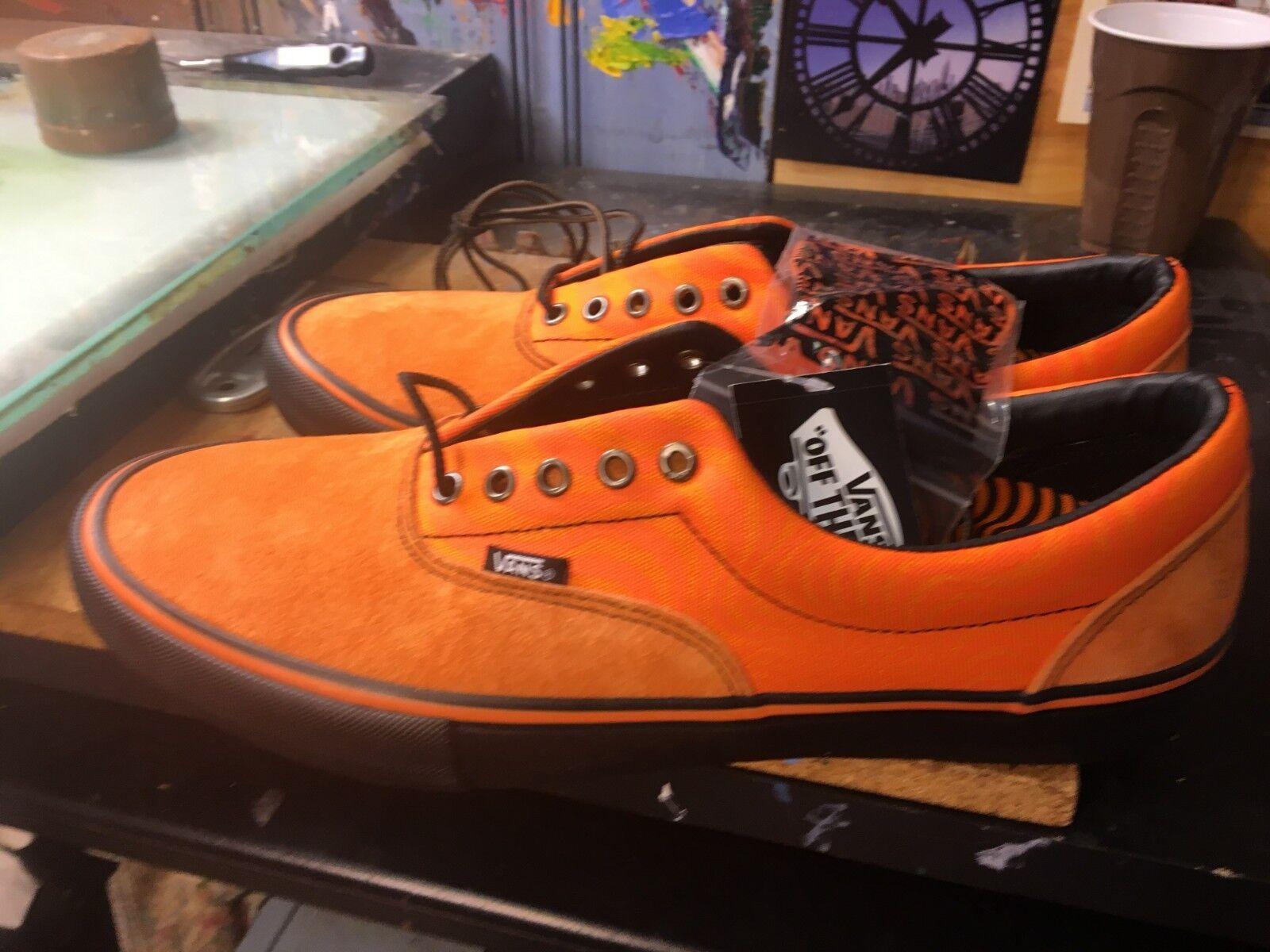 Vans Era PRO (Spitfire) Cardiel orange NIB Size US 8.5 Men VN000VFBQ30