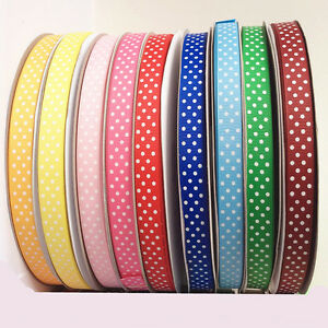 """Solid Grosgrain Ribbon Eco-friendly 1//4/"""" 3//8/"""" 1/"""" 2/"""" 4/"""" 245 Colors  100 Yards"""