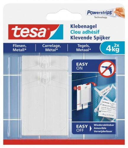 tesa® Klebenagel für Fliesen und Metall 77766 4kg