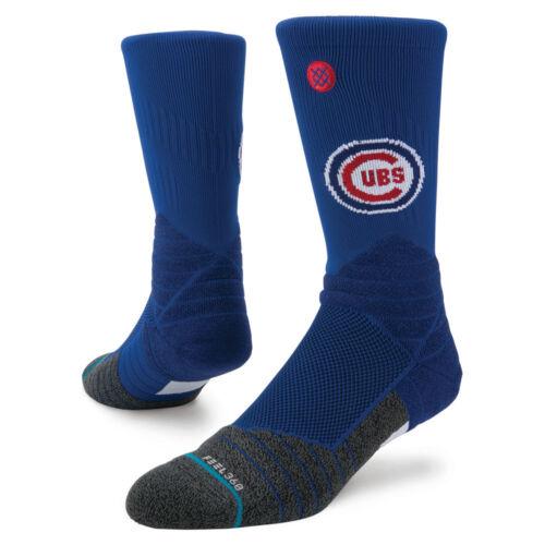 FREE USA SHIPPING! NWT Stance Socks Cubs KIDS DIAMOND PRO CREW YL 2-5.5