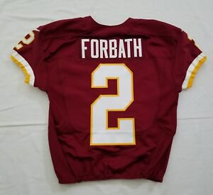#2 Kai Forbath of Washington Redskins NFL Game Issued Jersey