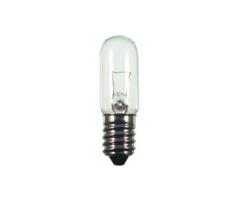 Lampe Tubulaire E14 24v Transparent 15w Type Sh 25820 54x16mm