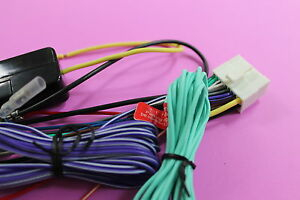 s l300 wire harness only for clarion vx401, vx 401 (100% copper 18 pin clarion vx401 wiring harness diagram at gsmx.co