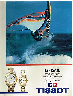 Other Breweriana Publicité Advertising 1984 Les Montres Tissot Relieving Rheumatism And Cold