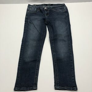 Premiere-by-rue21-Women-s-Capri-Jeans-Distressed-tag-7-8-Actual-32-X-24