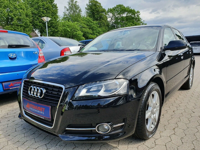 Audi A3 2,0 TDi 140 Ambiente SB 5d - 109.900 kr.